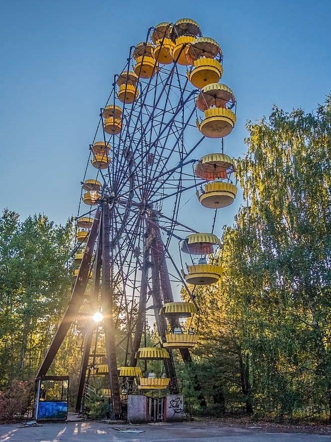 CENTRÁLNÍ UKRAJINA Kyjev & Černobyl